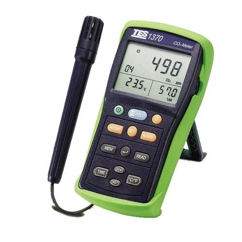medidor de CO2 interior sensor NDIR temperatura y humedad relativa Montaje en la pared monitor de calidad del aire rango de 0 ~ 5000ppm Detector de di/óxido de carbono