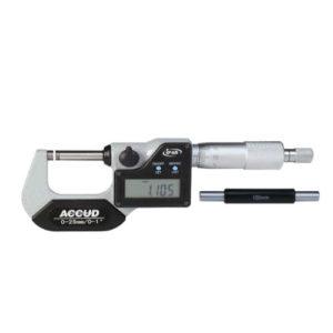 Micrómetro digital de exterior con salida de datos