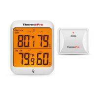 Medidor de temperatura y humedad con sensor Inalambrico