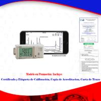 Registrador de datos de temperatura y humedad para farmacias