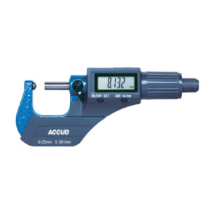 Micrometro digital para tubo