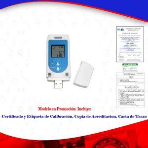 Termohigrómetro registrador para farmacia