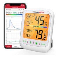 indicador de temperatura y humedad